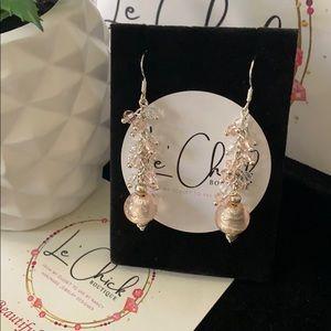 Handmade Light Pink earrings